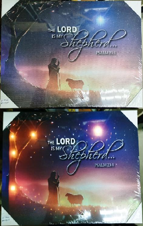 Led Frame - THE LORD IS MY SHEPHERD