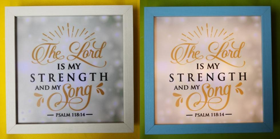 MDF THE LORD IS MY STRENGTH AND MY SONG