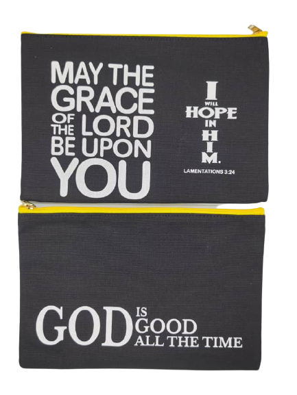 Canvas utility bag MAY THE GRACE OF THE LORD BE UPON YOU