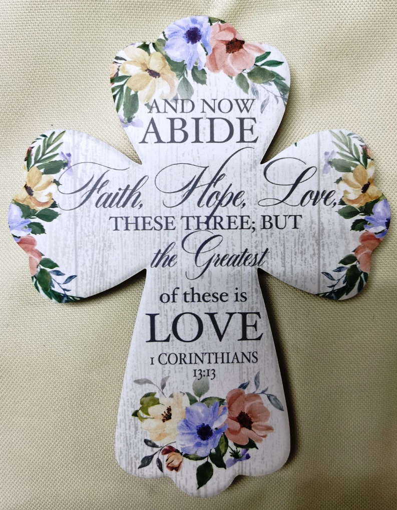 AND NOW ABIDE CROSS