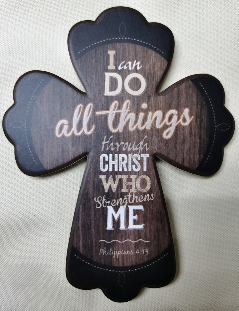 I CAN DO ALL THINGS CROSS