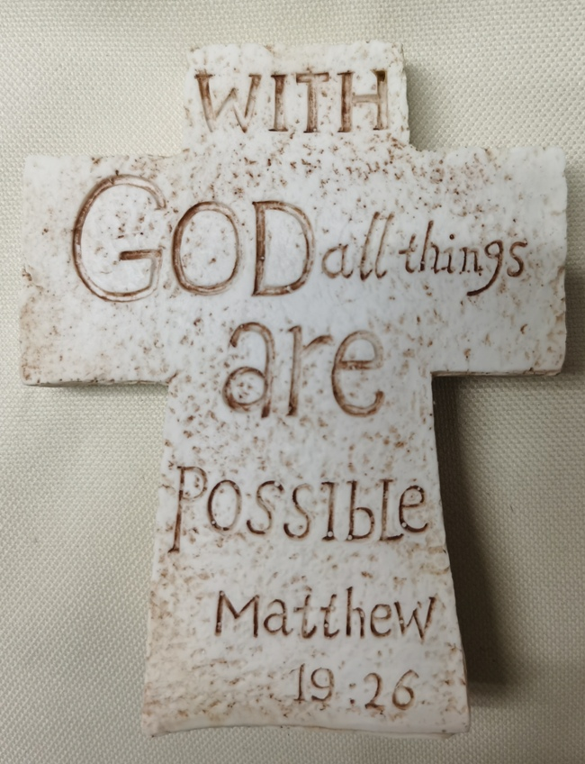 WITH GOD ALL THINGS CROSS