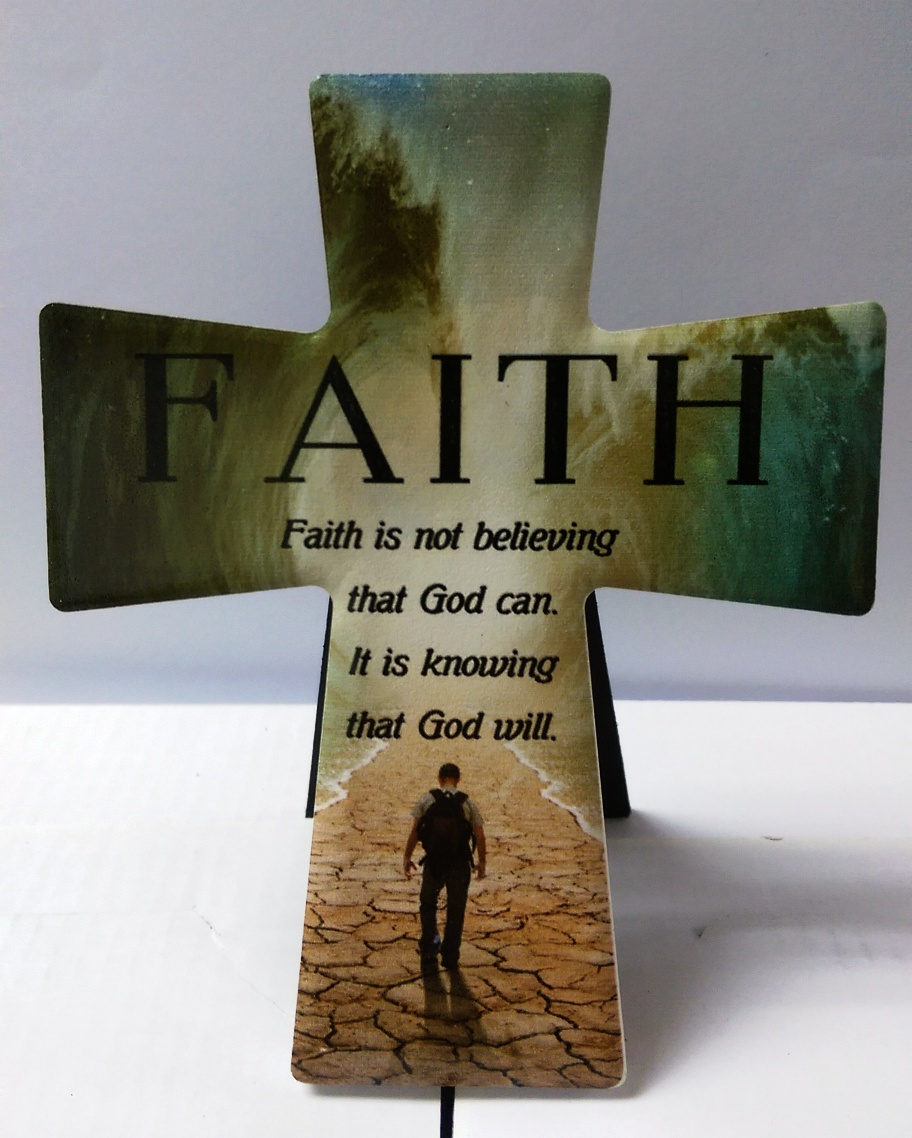 FAITH IS NOT BELIEVING