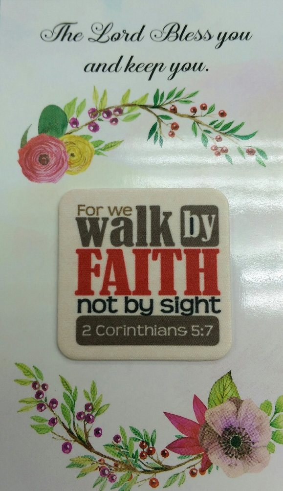 WALK BY FAITH - PINK